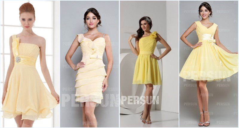 robe jaune