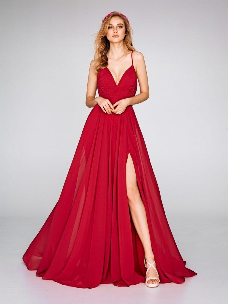 La robe fendue