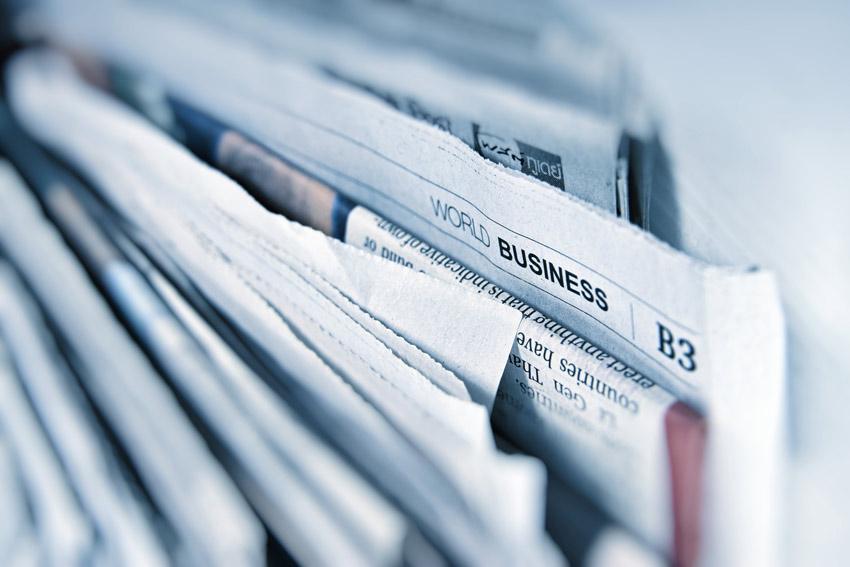 revenus des journaux papier
