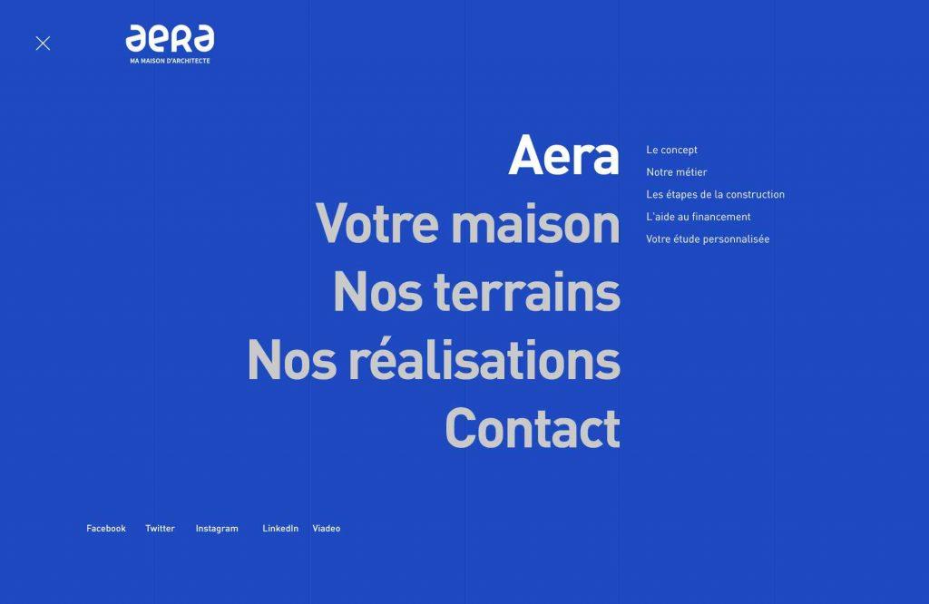 Aera, constructeur de maisons d'architecte
